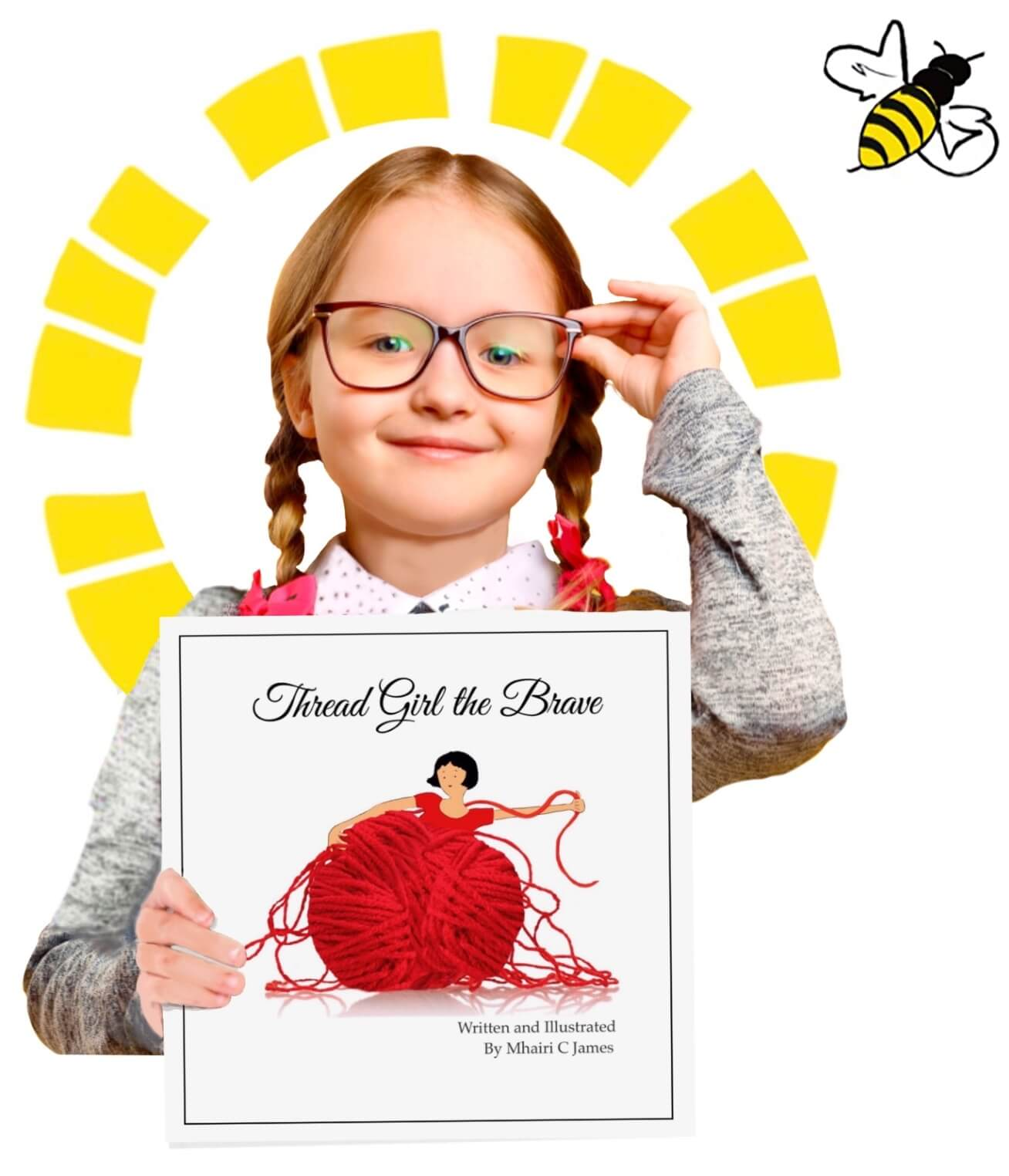 girl-book-bee